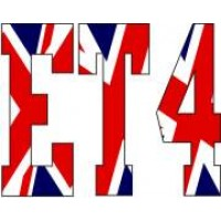 Vespa ET4 Union flag decal