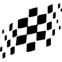 GP Chequered Flag Decal