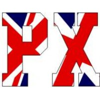 Vespa PX Union flag decal