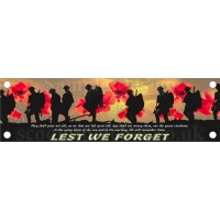 Lest We forget Legshield Banner