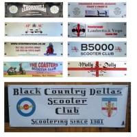Custom Printed Legshield Banners (Standard Range)