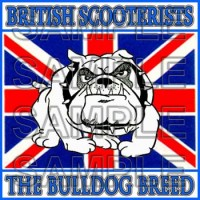 Bulldog Breed Patch
