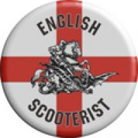 English Scooterists Pin Badge