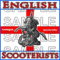 English Scooterists Patch