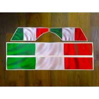 Italian Flag Stripe kit