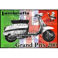 Lambretta GP 200 Patch