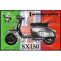 Lambretta SX 150 Patch