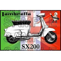 Lambretta SX 200 Patch