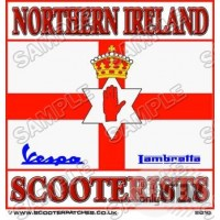 Northern Irish Scooterists Patch