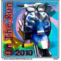 On The Run 2010 (Blue Splat GP) Patch