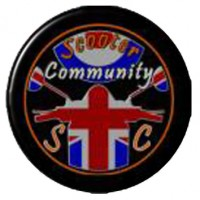 Scooter Community SC 25mm Pin Badge