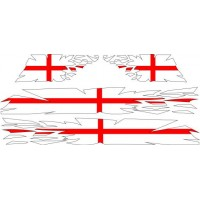 Ripped George Cross Stripe kit