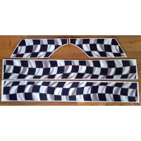 Rippled Chequers Stripe kit