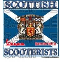 Scottish Scooterists Patch