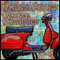 National Scooter Rallies Supporter Patch