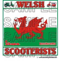 Welsh Scooterists Patch